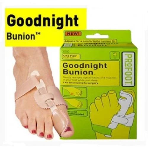 Ортопедический корректор косточки для обеих стоп   Вальгусная шина   Pro foot Goodnight Bunion