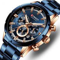 Мужские кварцевые часы Curren Wild с хронографом и секундомером