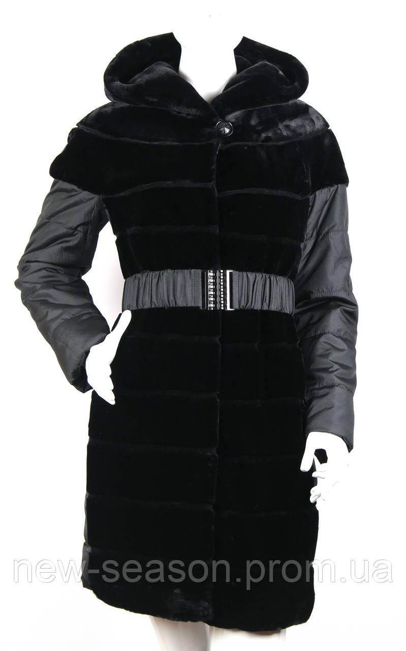 Пальто (куртка) из искусственного меха Esocco J15013-1