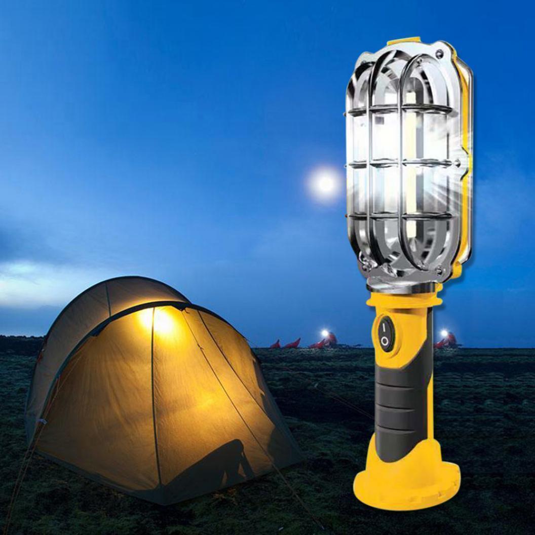 Магнитный переносной светодиодный ручной LED  фонарь - прожектор на 50 люмен Handy Brite