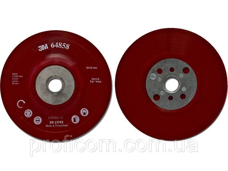 Оправка гладка,червона д.125 +M14