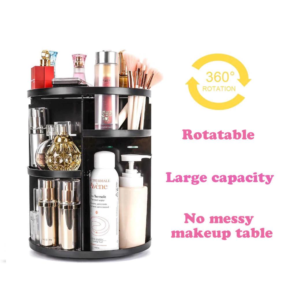 Поворотная круглая подставка для украшений | підставка для прикрас Rotation Cosmetic