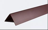 Декоративные углы ПВХ цветные LinePlast 20х20 LUA004