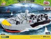 Конструктор Cobi американский катер Patrol Torpedo Boat PT-305 (COBI-2376)