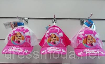 Бейсболки детские для девочек Paw Patrol от Disney 48-50 cm