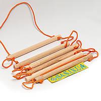 Лестница детская, подвесная, деревянная «ЭКОНОМ»
