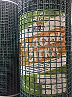 Сетка декоративная КОЛИБРИ темно-зеленая (30*30)1,5м 19м/рул