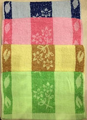 Полотенце кухонное махровое  размер 30*70 см.