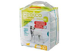 Пеленки Genico Medium для собак 60x60 см, 10 шт