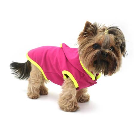 Жилет для собак Джек Малиновый, фото 2