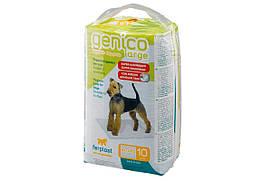 Пеленки Genico Large для собак 60x90 см, 10 шт