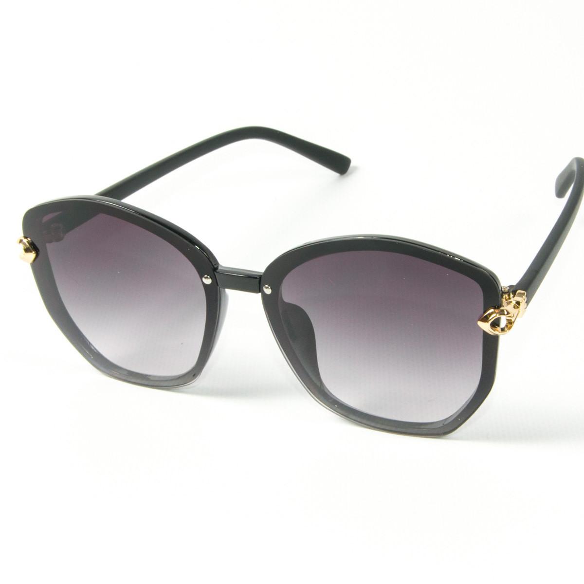 Оптом женские солнцезащитные  очки (арт. 2347/6) черные
