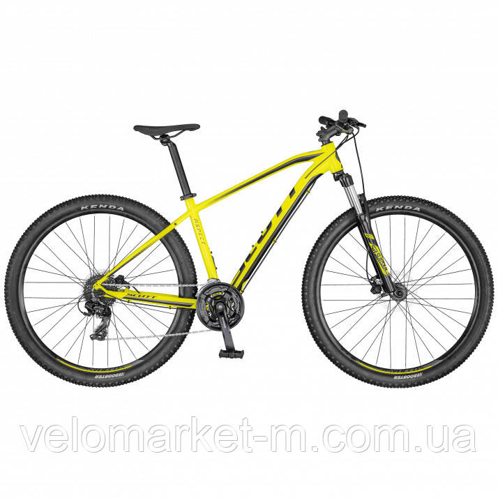 Велосипед Scott Aspect 760 жовтий 2020