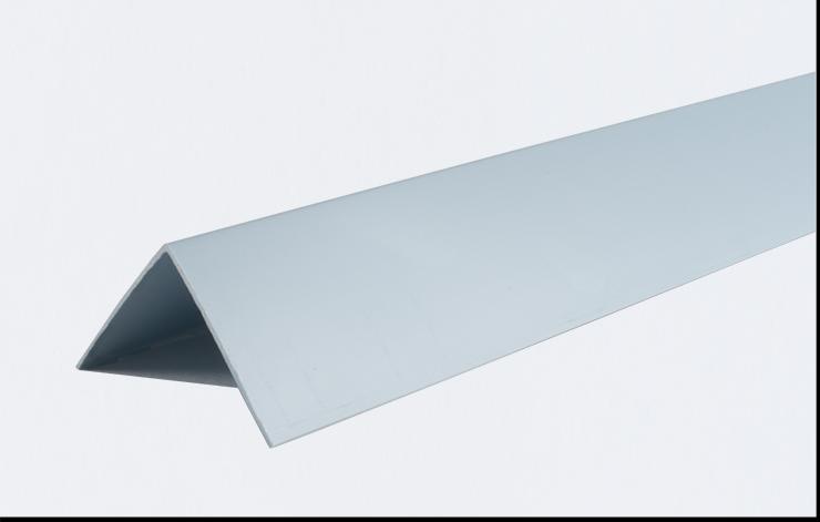 Декоративні кути ПВХ кольорові LinePlast 20х20 LUA007