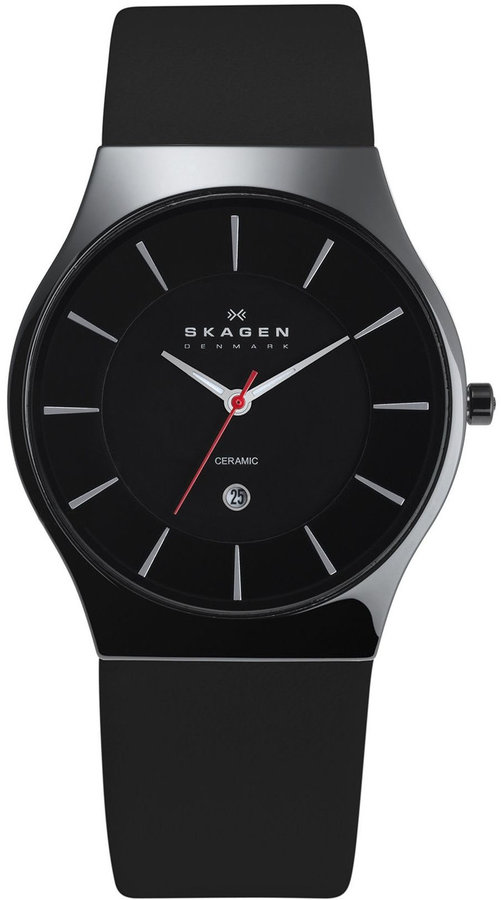 Мужские часы SKAGEN 233XLCLB оригинал - Оригинальные часы -