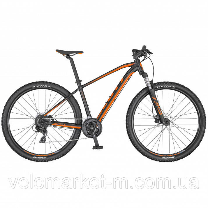 Велосипед Scott Aspect 760 чорно/помаранчевий 2020