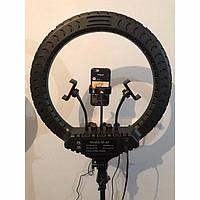 Кольцевая лампа 45 см M-45  Пульт + 3 держателя для телефона