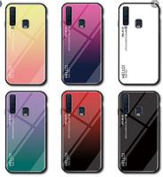Чехол стеклянный Case Glass  Samsung Galaxy A9 2018