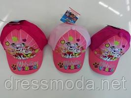 Бейсболки детские для девочек Paw Patrol от Disney 52-54 cm