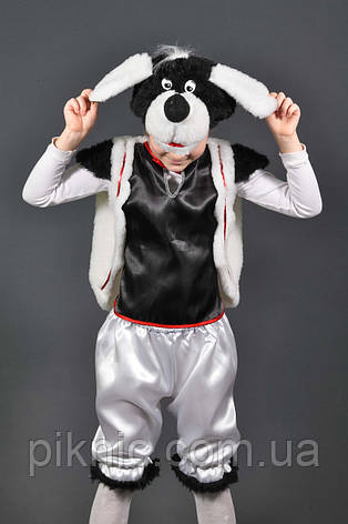 Детский карнавальный костюм Собака Песик Собачка 5,6,7,8.  Маскарадный костюм для детей, фото 2