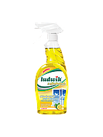 Ludwik средство для мытья стекол и плитки с алкоголем 750мл Лимон