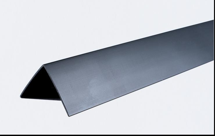 Декоративные углы ПВХ цветные LinePlast 10x10 LUA010