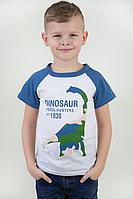 """Детская футболка реглан """"Динозавр"""""""