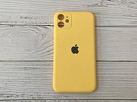 Чехол для Iphone 11 Shock Proof Original Силикон Желтый