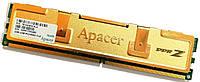 Игровая оперативная память Apacer DDR2 2Gb 800MHz PC2 6400U CL5 2R8 (78.AAGA0.9L4) Б/У, фото 1