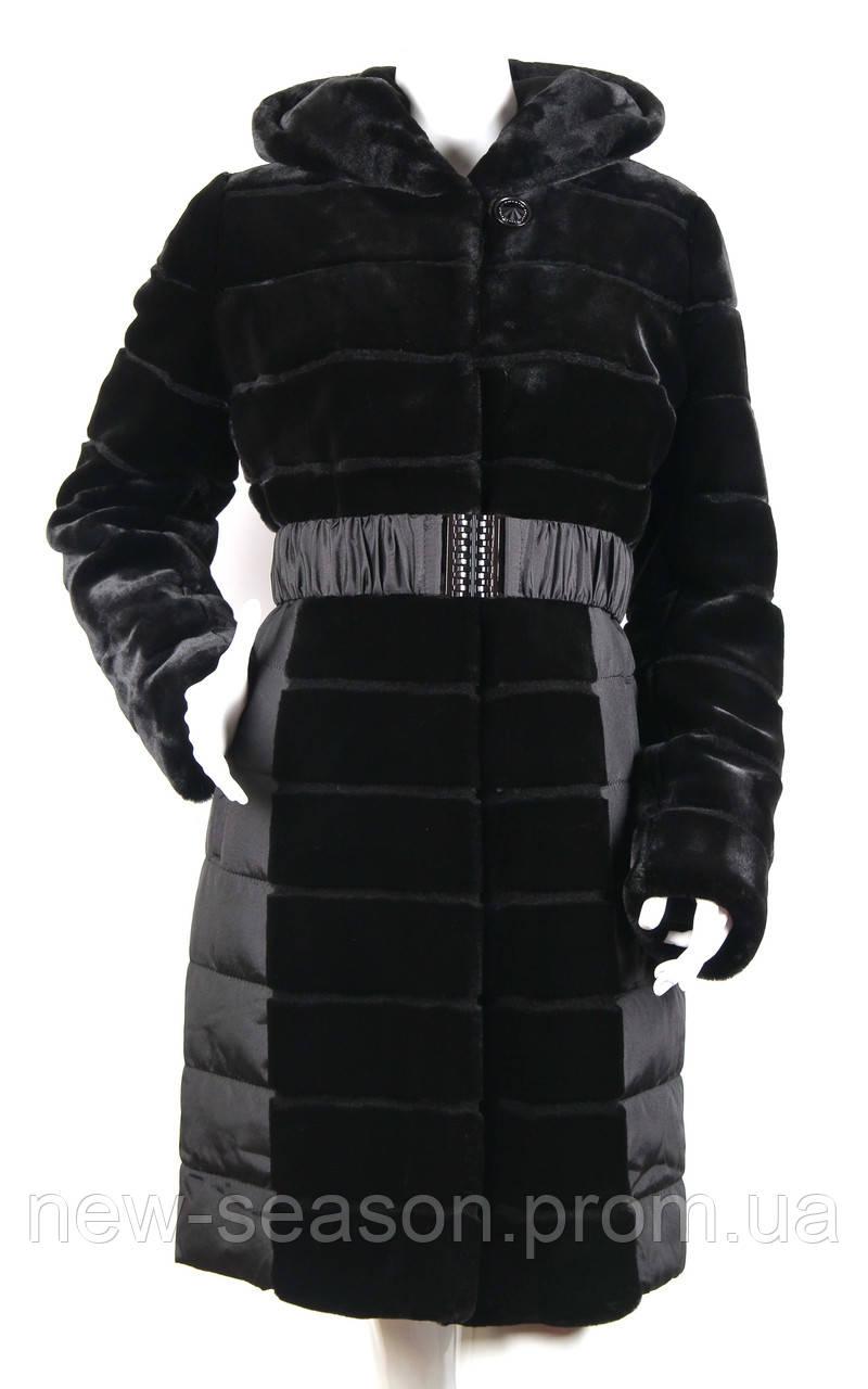 Пальто (куртка) из искусственного меха Esocco J15022-1