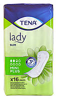 Урологические прокладки Tena Lady Slim Mini Plus (2,5 кап.) – 16 шт.