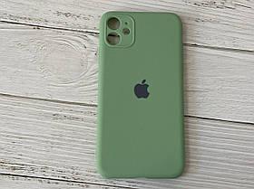 Чехол для Iphone 11 Shock Proof Original Силикон Зеленый