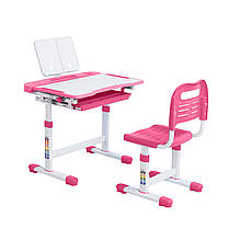 Ергономічний комплект Cubby парта і стілець-трансформери Vanda Pink, фото 3