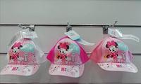 Бейсболки дитячі для дівчаток від Disney Minnie 52-54 cm