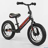 Беговел - велобег Corso надувные колеса 12 дюймов, фото 6