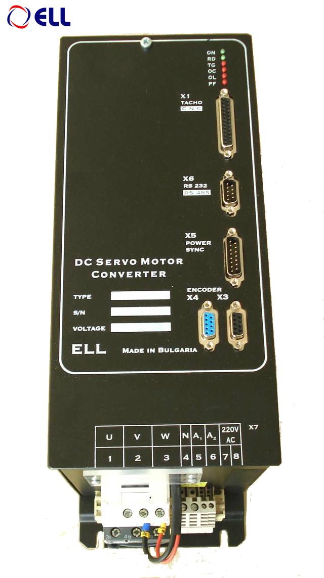 Цифровые тиристорные преобразователи серии 12ХХХ для двигателей постоянного тока с постоянными магнитами.