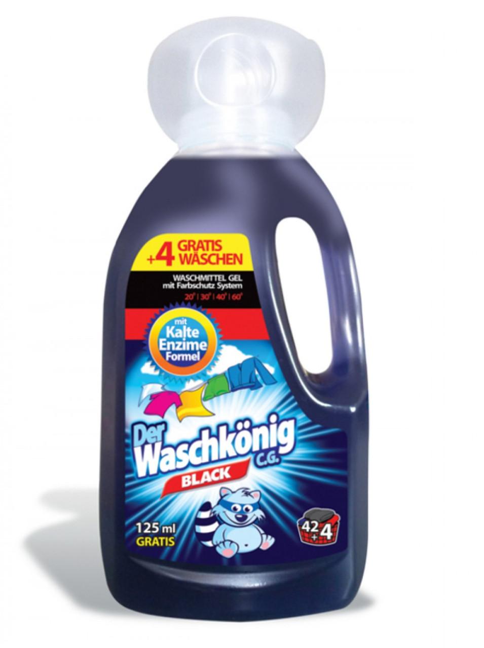 Гель для прання темних речей Der Waschkonig Black 1.625 мл.