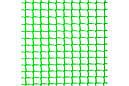 Забор садовый,ячейка 10х10мм рулон 1м х 20м (пластиковый)темно и светло зеленый, фото 4