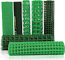 Забор садовый,ячейка 10х10мм рулон 1м х 20м (пластиковый)темно и светло зеленый, фото 5