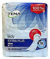 Урологические прокладки Tena Lady Extra Plus (5 кап.) – 16 шт.