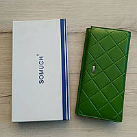 Женский кошелек пресс кожа Somuch, фото 1