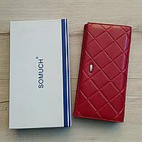 Жіночий гаманець прес шкіра Somuch