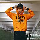 Худи оранжевое мужское Токио, фото 3