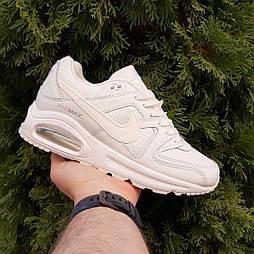 Женские кроссовки Nike Air Max 90 белые. Фото в живую. Реплика