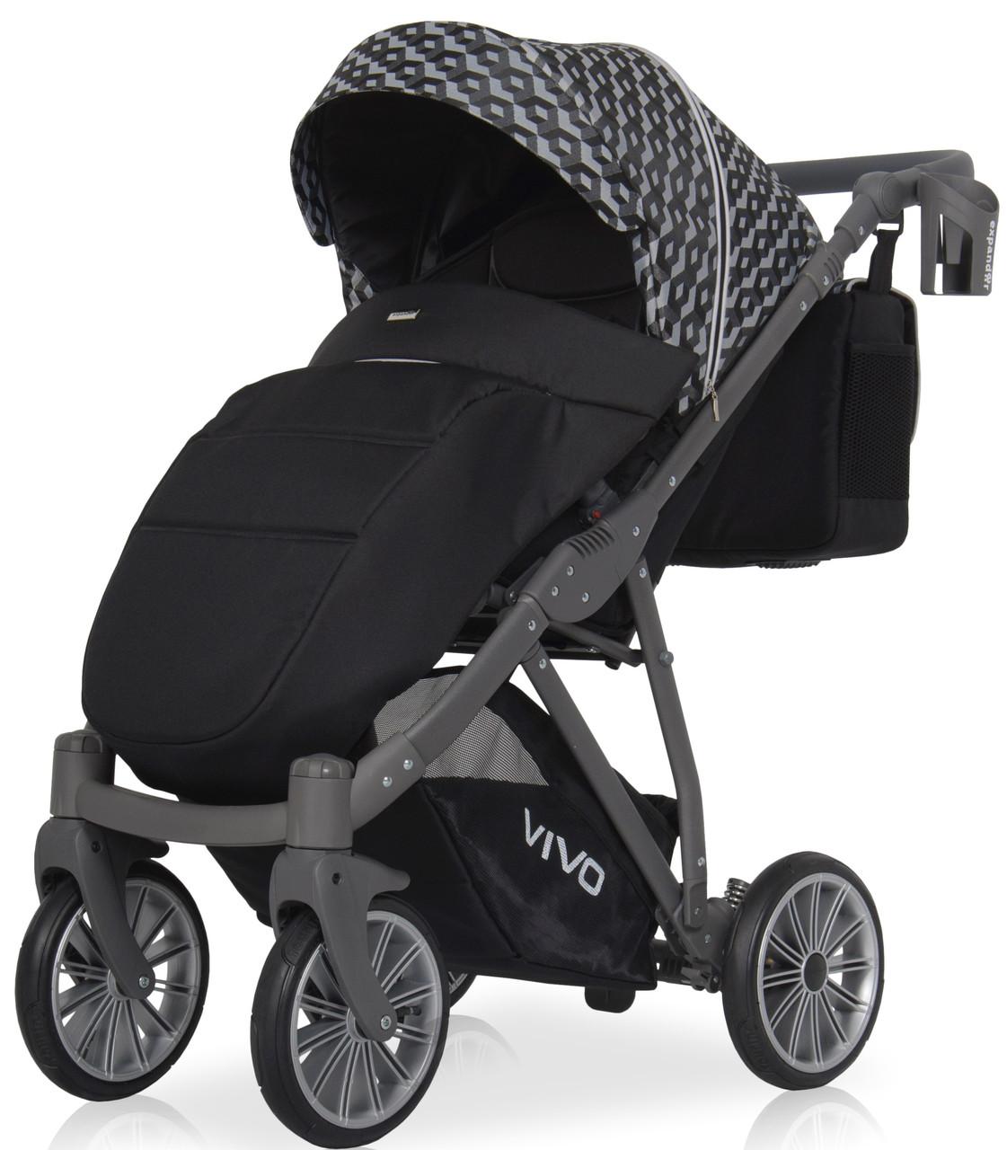 Дитяча універсальна прогулянкова коляска Riko Vivo 01