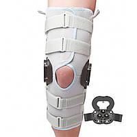 Бандаж на колено с регулируемыми полицентрическими шарнирами Wellcare 52035