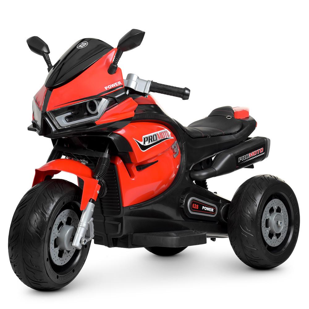 Электромобиль Мотоцикл M 4265EL-3 красный BAMBI