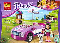 Конструктор Bela серия Friends / Подружки 10154 (Спортивный автомобиль Эммы)