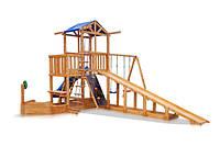 Детская площадка - Капитан с зимней горкой Babyland-13