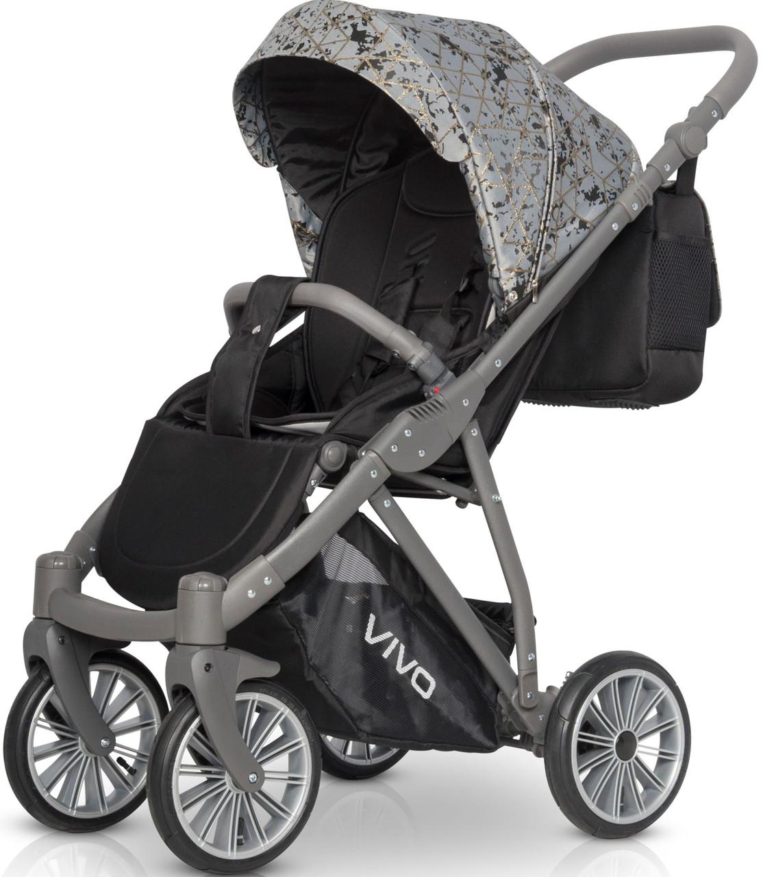 Детская универсальная прогулочная коляска Riko Vivo 03
